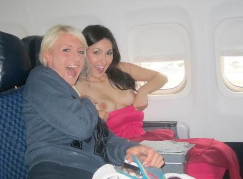Airplane boobs bouncing boobs gif on gifer